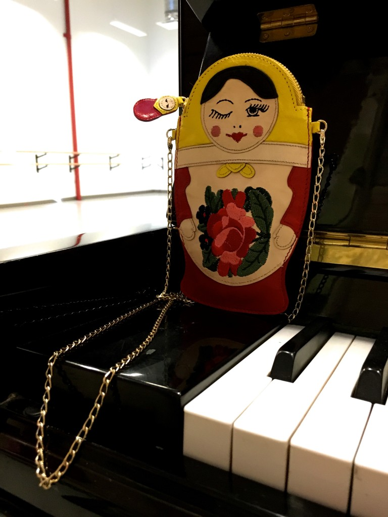 Charlotte Olympia Russian Doll Shoulder Bag