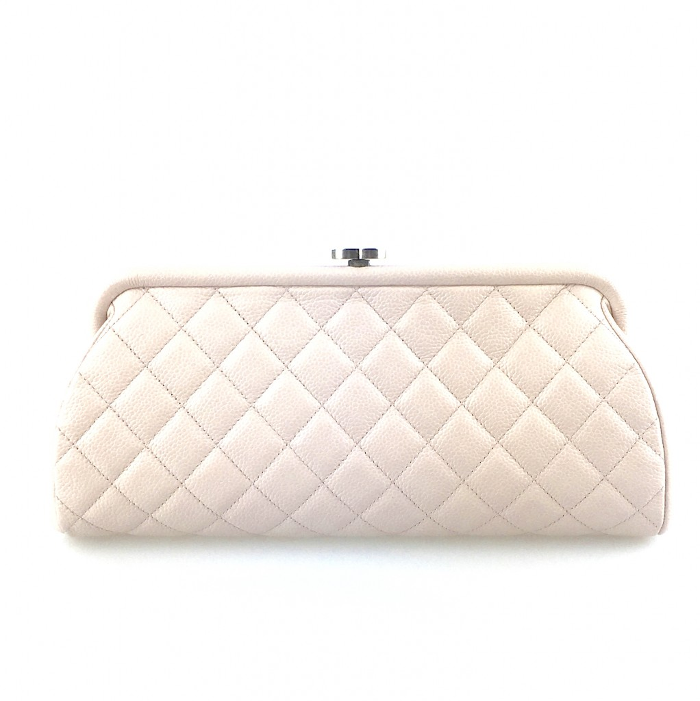 Chanel Clutch Bag in Light Pink