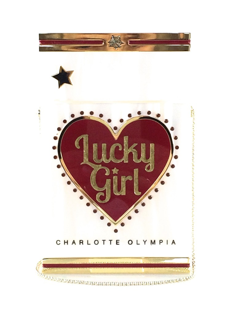Charlotte Olympia Lucky Girl Smokin' Clutch