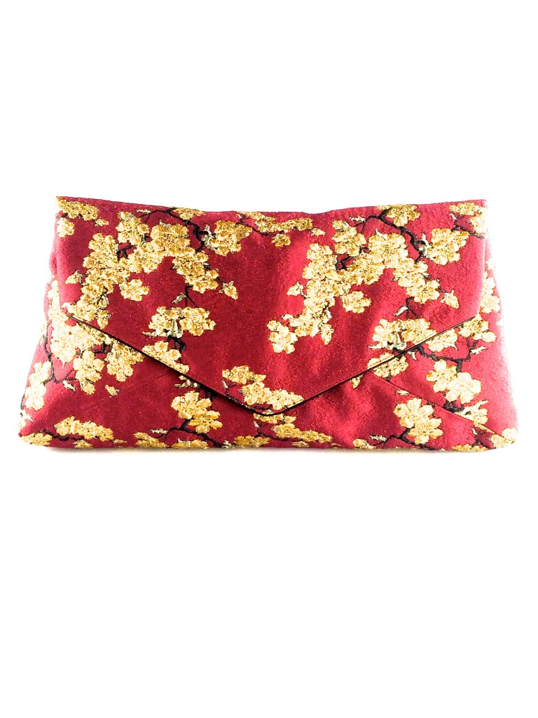 Dries van Noten Floral Jacquard Clutch