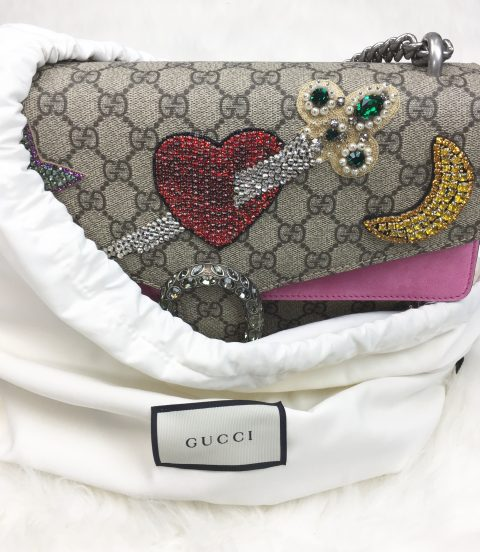Dionysus GG Monogram Shoulder Bag by Gucci