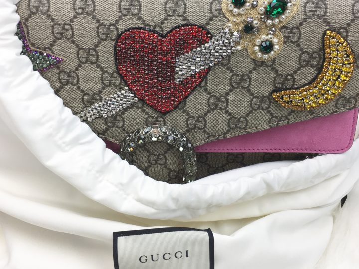 Gucci is Pretty in Pink…
